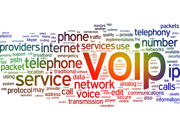 VoIP cloud telephony